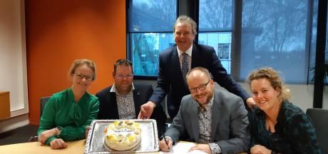 Bibliotheek te krap voor bedrijf uit Broekland