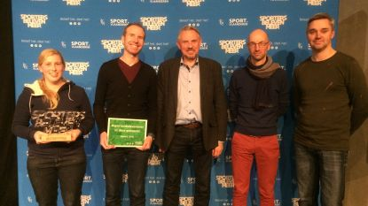 Sportdienst krijgt opnieuw #sportersbelevenmeer-award