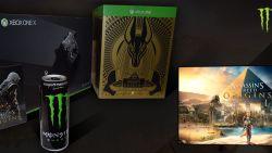 Win deze unieke Xbox One X of een van de 'Assassin's Creed Origins'-prijzen