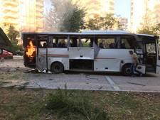 12 gewonden bij explosie politiebus Turkije