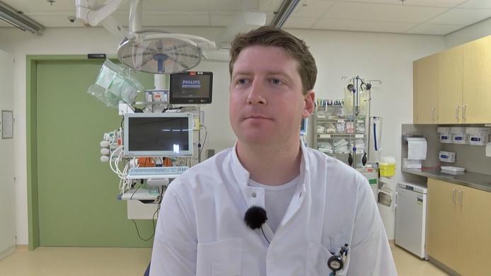 Stijn van Ommeren, arts op de spoedeisende hulp van het MST in Enschede.