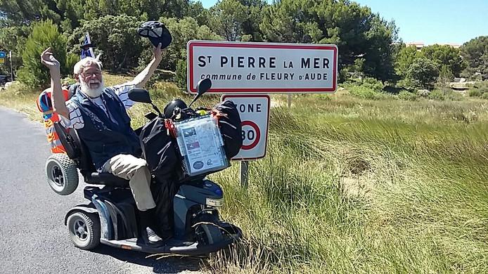 Peter de Lijser in Saint Pierre la Mer.