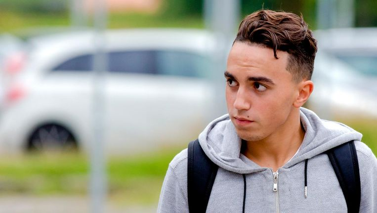 Nouri kreeg de afgelopen zomer tijdens een oefenwedstrijd van Ajax een hartstilstand en liep daarbij zwaar en blijvend hersenletsel op. Beeld anp