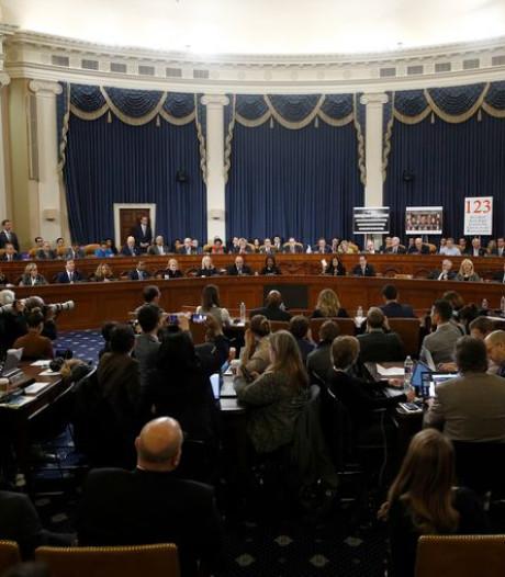 Twee afzettingsaanklachten tegen Trump naar Huis van Afgevaardigden