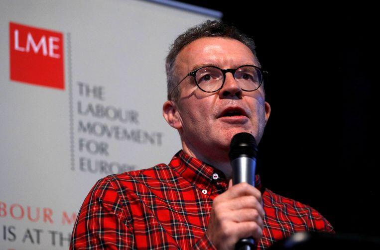 Tom Watson wil dat Labour een antibrexit-standpunt inneemt.