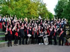 Muziekvereniging Goede Hoop uit Eersel pakt uit