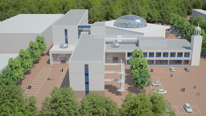 El Wahda de toekomstige grote moskee in de Prins Willem Alexanderkazerne in Gouda.