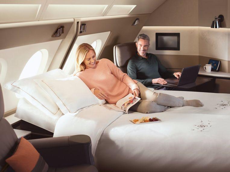 Niets dan luxe in First Class