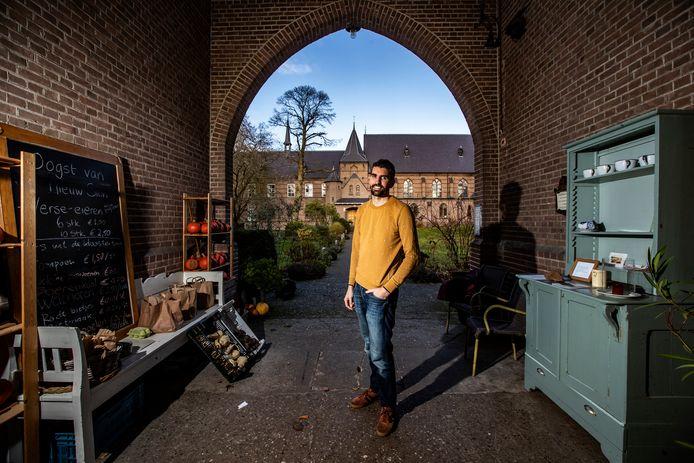 Marten IJmker heeft de schone taak  klooster Nieuw Sion energieneutraal te maken.