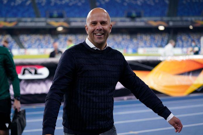 Coach Arne Slot.
