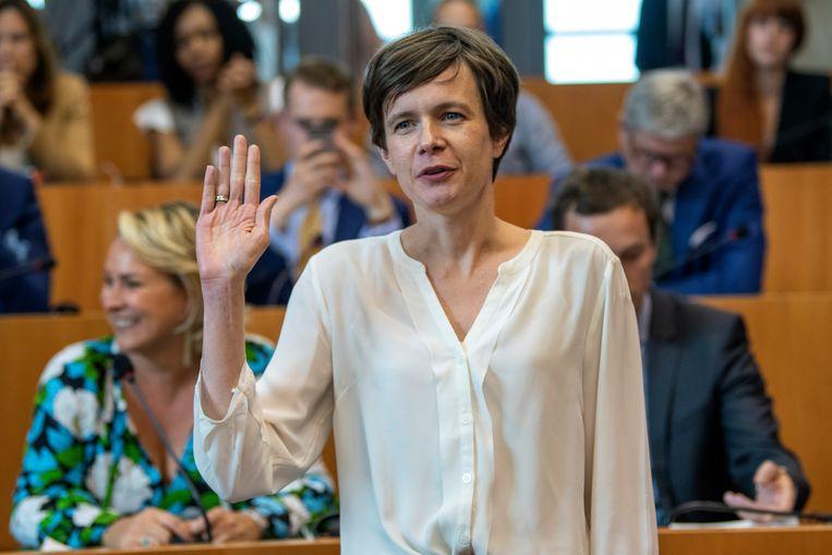 N-VA-fractieleidster in het Brussels Parlement Cieltje Van Achter