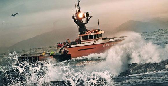 De 'Deadliest Catch'-boot kwam in moeilijk vaarwater terecht.