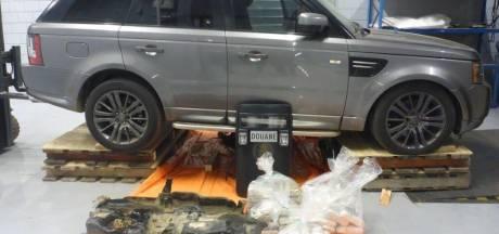 42 kilo coke verstopt in brandstoftank Range Rover