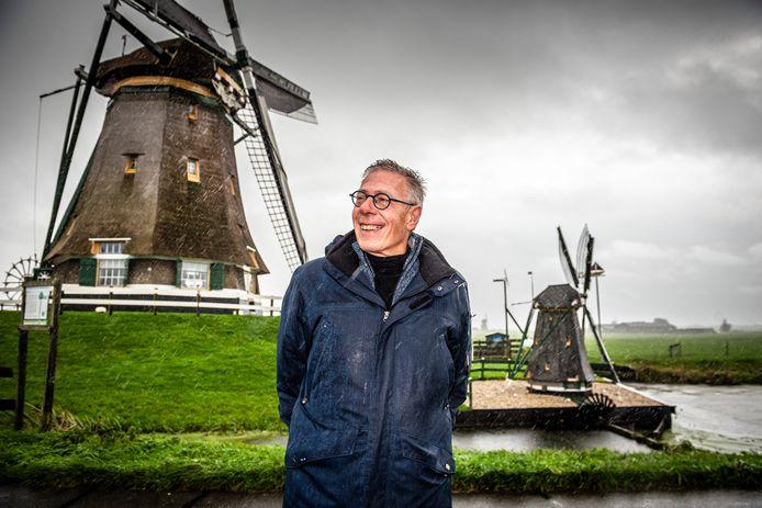 Aarlanderveen is trots op de molenviergang. Maar van windmolens gruwelt voorzitter Herman de Jong van de Belangenvereniging  Aarlanderveen.