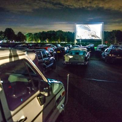 Drive in bioscoop in Zundert