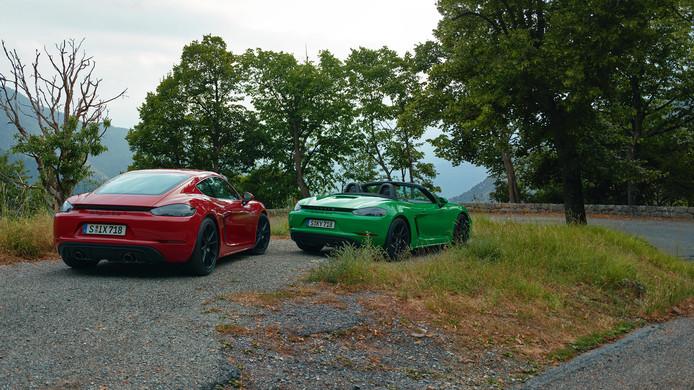 Porsche Cayman en Boxster GTS