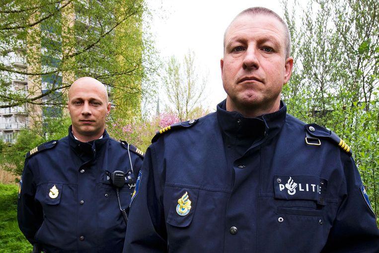 Guido Moes (l) en Henk Luske (Guus Dubbelman / de Volkskrant) Beeld
