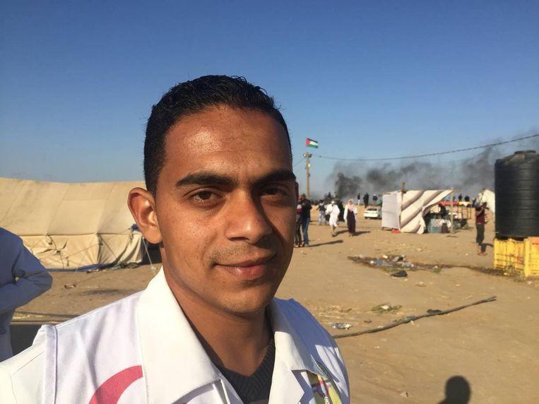 Mahmoud Oudih (24) Beeld Monique van Hoogstraten