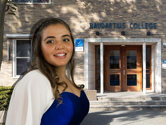 Giada (16) uit Italië gaat niet naar Baudartius College in Zutphen, maar naar RGS 't Rijks in Bergen op Zoom.