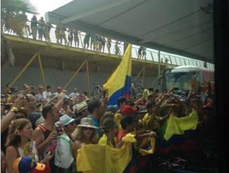 Een Colombiaan in de leiderstrui, dat zorgt voor knotsgekke toestanden
