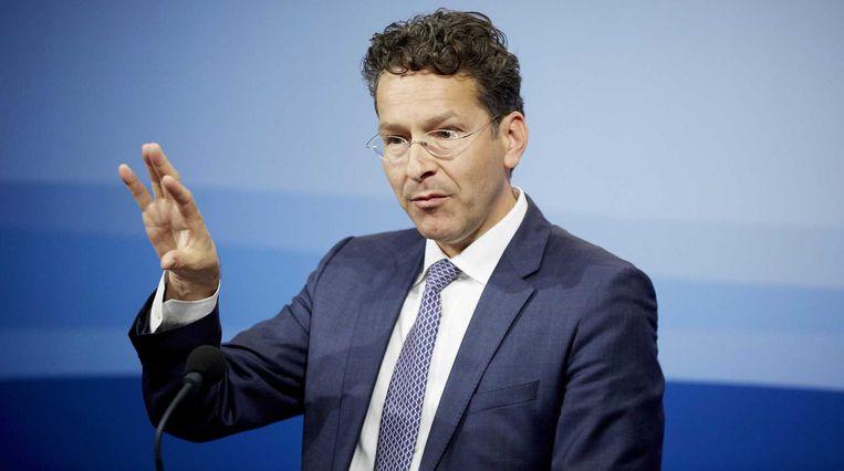 Jeroen Dijsselbloem, voorzitter van de Eurogroep. Beeld ANP