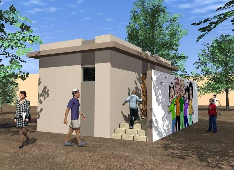 Marie-Agnes Dieme zamelt momenteel geld in voor de bouw van een sanitair blok aan een schooltje in Senegal.