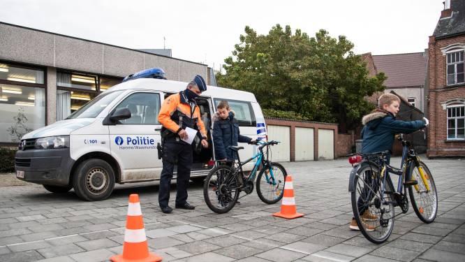 """School houdt samen met politie controle op veiligheid van de fiets: """"Veiligheid pak beter dan vorig jaar dankzij verkeerslessen"""""""