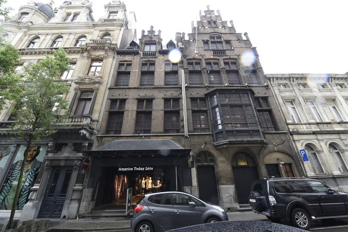 In dit gebouw was vroeger de Ancienne Belgique waar Gaston regelmatig optrad.