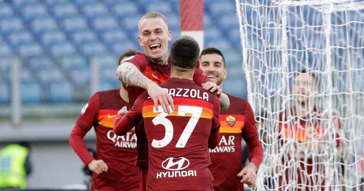 Karsdorp maakt eerste treffer in Serie A en revancheert zich met AS Roma