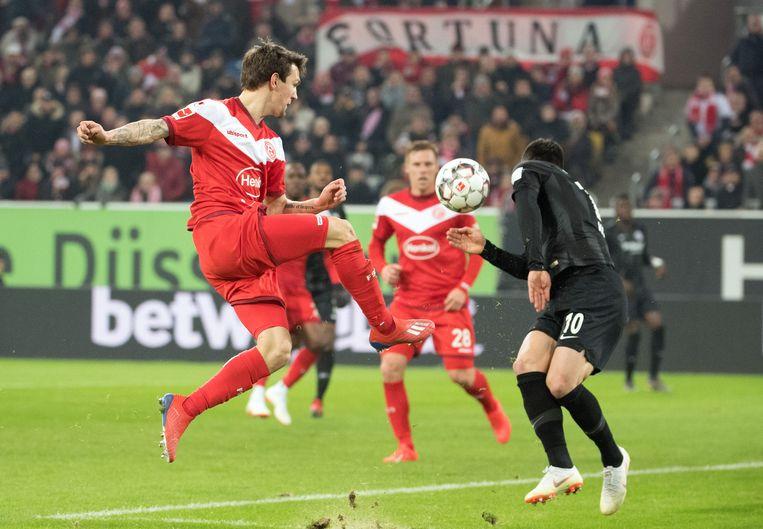 Geen succes voor Raman tegen Frankfurt.