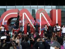Des manifestants s'en prennent avec violence au siège de CNN à Atlanta après la mort de George Floyd
