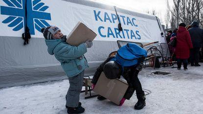 """Unicef: """"Vrieskou bedreigt duizenden kinderen in Oekraïne"""""""