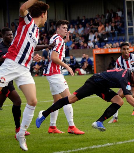 Willem II buigt in Dongen weer voor Sparta