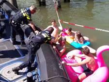 Conflict met politie om zwemverbod in Dordtse havens