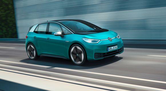 De nieuwe, volledig elektrische Volkswagen ID.3