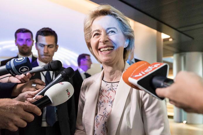Ursula von der Leyen, vanaf 1 november voorzitter van de Europese Commissie.