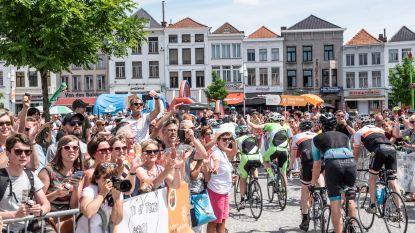 Video. Deelnemers aan 1.000 kilometer voor Kom Op Tegen Kanker uitbundig verwelkomd in Oudenaarde