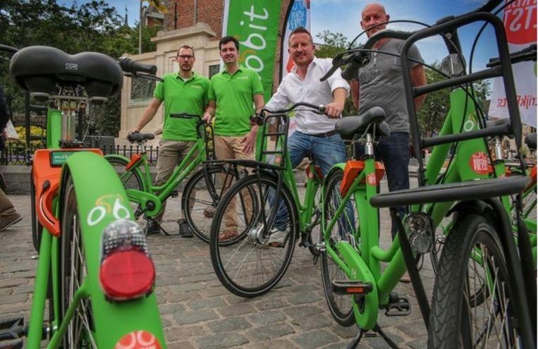 In Kortrijk kan je nu al deelfietsen huren.