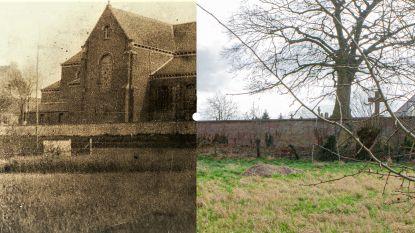 Vroeger en nu: de voormalige Pamelse kerk aan de Dender