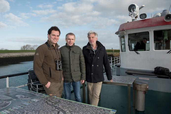 Paul Begijn, Corné Appelo en Eric van Zanten