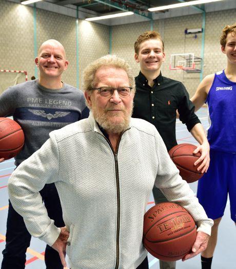 Basketballers Jayvy en Tycho treden in de voetsporen van vader Wolter en opa Klaas Zwijnenburg