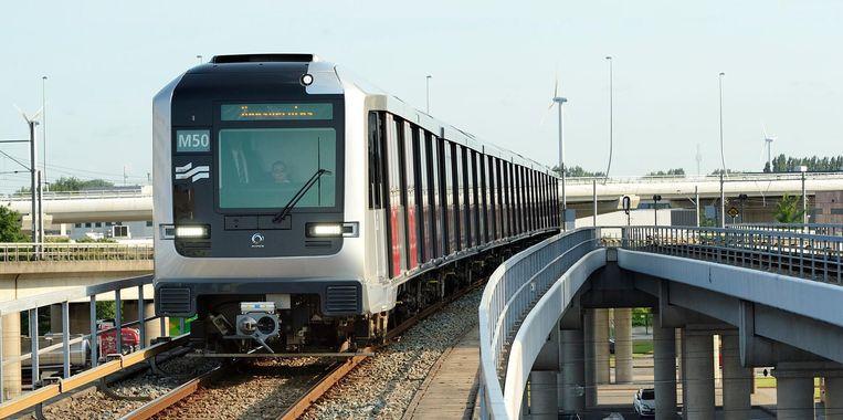 Metrolijn 50 Beeld anp