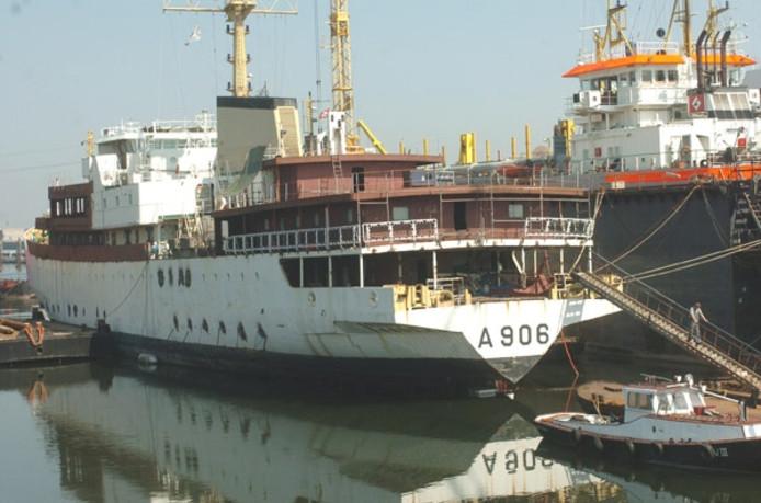 De scheepswerf Reimerswaal in Hansweert.