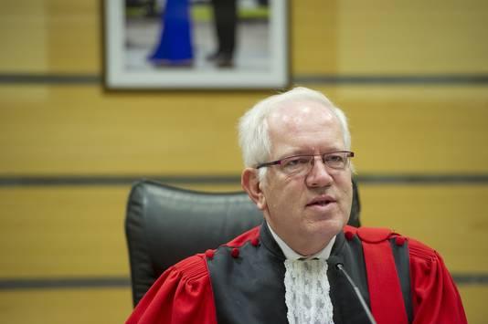 Le président de la cour, Philippe Gorle