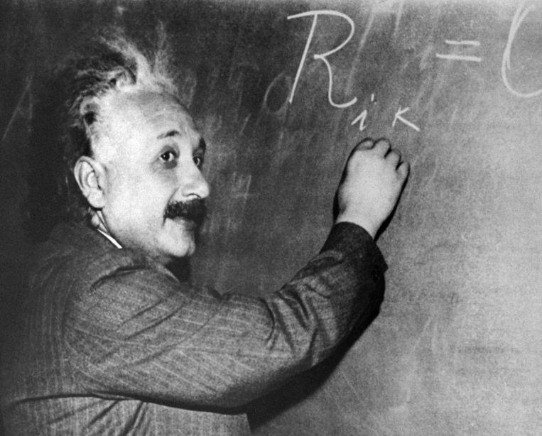Einstein Noemt Chinezen In Dagboek Smerig En Stompzinnig