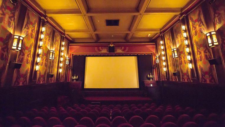 Filmzaal van bioscoop The Movies. Beeld Eva Plevier