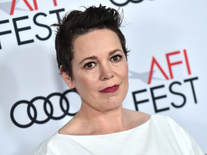 'The Crown' Gala Screening - AFI Fest. Olivia Colman at 'The Crown' Gala Screening and Tribute to Peter Morgan during AFI Fest held at TCL Chinese Theatre on November 16, 2019 in Hollywood, USA.  URN:48394879 ! only BELGIUM !