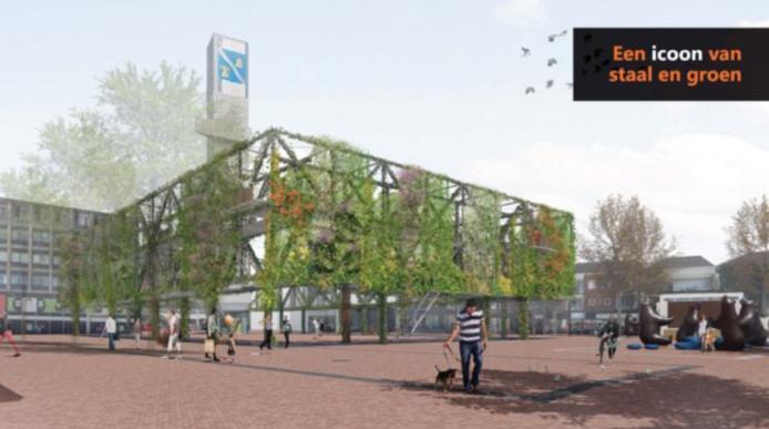 Het ontwerp van IAA Architecten voor de Hengelose binnenstad
