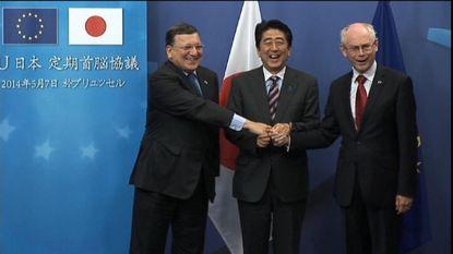 Japanse premier bezoekt ons land