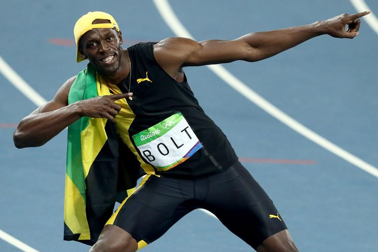 Usain Bolt Beeld Getty Images